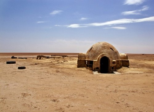 The Original 'Star Wars' Set Is Now Abandoned And In Ruins