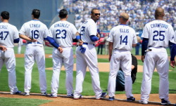 #OpeningDay…good times. #Dodgers