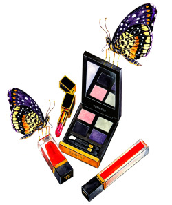 Tom Ford Cosmetics illustrated by Sunny Gu Get updates from Facebook Twitter Pinterest