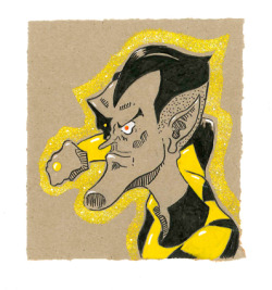 My Sinestro sketch!