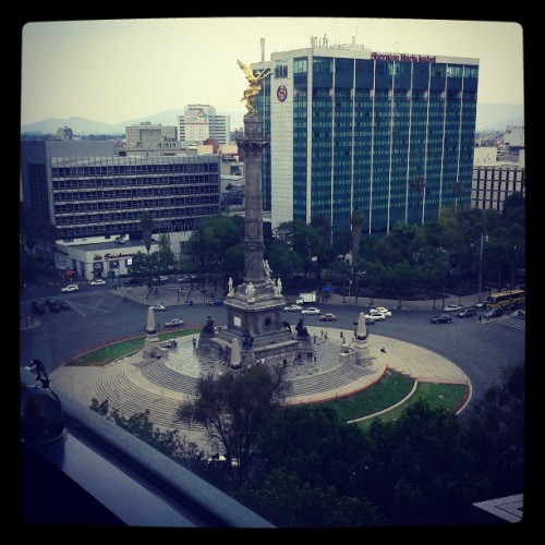 La envidiable vista de @chispitafa #Reforma #office #Godinez