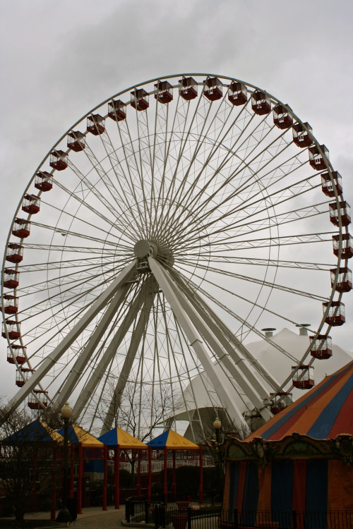 canadieh:  Navy Pier Ferris Wheel in Chicago