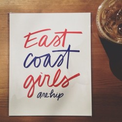 East coast girls are hip by @scoutshonorco. #truth #vscocam