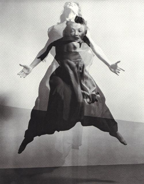 Barbara Morgan - Valerie Bettis in The Desparate Heart, 1944. Photomontage II … from Barbara Morgan, edited - designed by Barbara Morgan, A Morgan & Morgan Monograph, 1972.