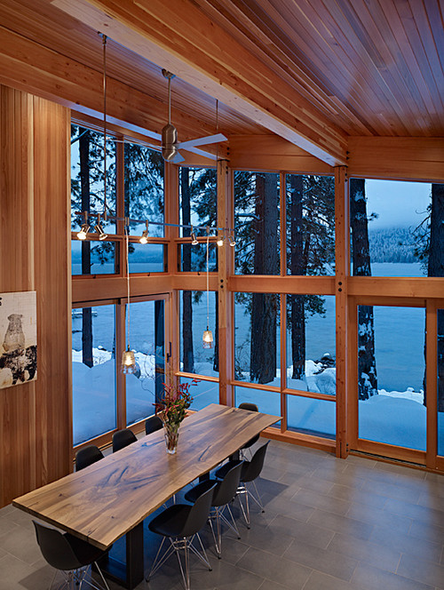 georgianadesign:  North Lake Wenatchee cabin, Seattle. DeForest Architects.