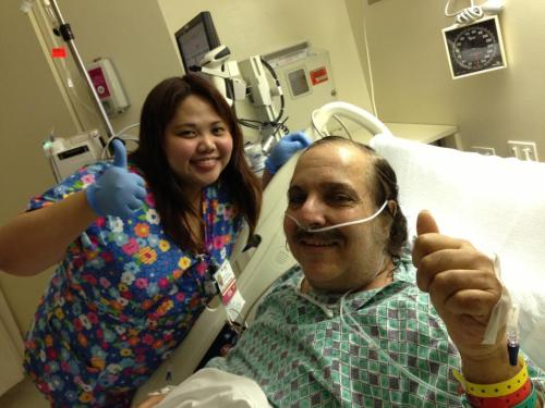 While we were away on tour, Ron Jeremy got pretty sick. We're happy to hear that he's doing well on the road to recovery.