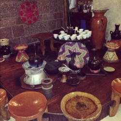 The Coffee Ceremony at the Hilton, Addis Ababa #cultureofcoffee