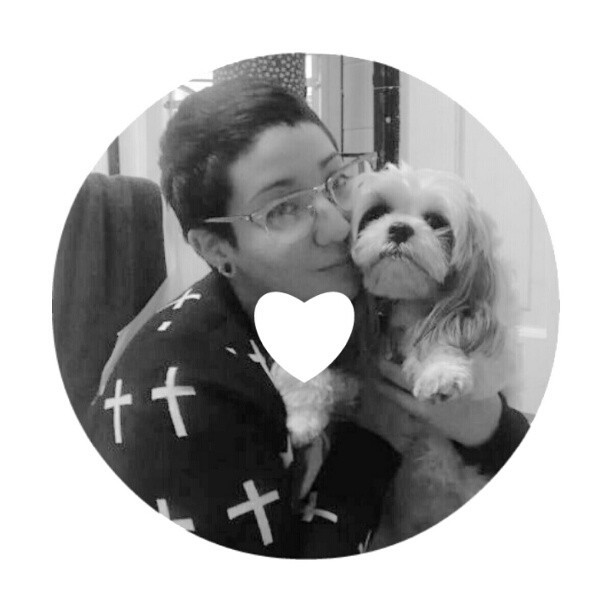 With my baby Layka. #dogpftheday #dogs #cute #furry #crosses #cardigan #cutedogs #fluffy #kawaii #adorable #pretty #happy #fashion #glasses #shorthair #septum #raybans #piercings #plugs #home #whitedoors #instamatic #instadaily #bestoftheday #instagood #instahooked #instahub #instalove #doglover