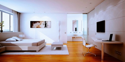 homedesigning:  Contemporary Bedroom