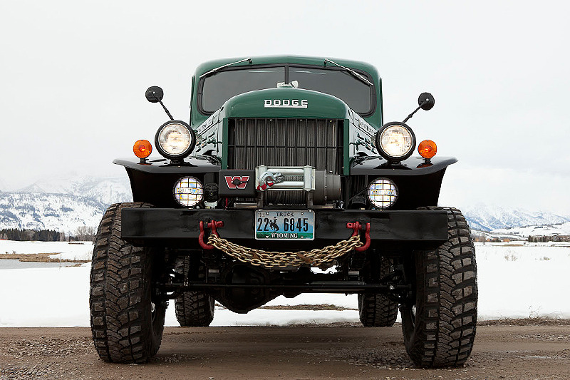 wood-is-good:  Dodge Power Wagon handcrafted by artisan auto mechanics at Legacy Classic Trucks in Jackson Hole, Wyoming