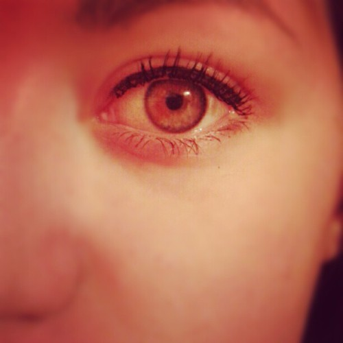 #eye #eyeliner #mascara #face #me #dutch #girl #spot #in #eye