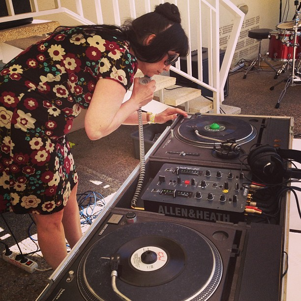 Dj Annette Voladora (at Koppers Hotel Pineda de Mar)