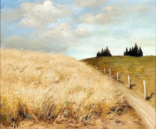 bofransson:  Wheat Field Marcel Dyf
