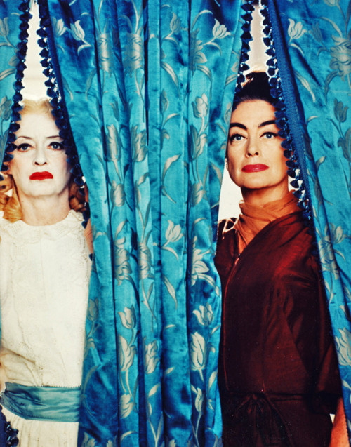 deadhorsebrooklyn:  vintagegal:  Bette Davis and Joan Crawford in What Ever Happened to Baby Jane? (1962)  Perfect.
