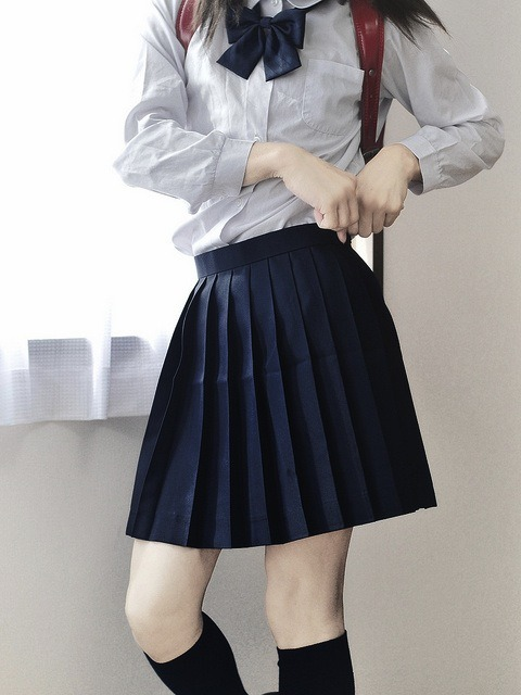 forthebetterhalf:  Sailor Uniform.