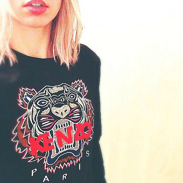 NEW IN: Kenzo pullover (taken with instagram)