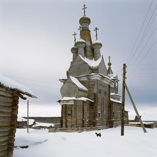 Kimzha, Arkhangel region, Church of the Virgin Hodigitria (1763) by Richard Davies