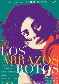 rubenisrapture:  Broken Embraces / Los Abrazos Rotos. (dir. Pedro Almodovar, 2009.)  My most recent watch. Never disappointed by Almodovar.