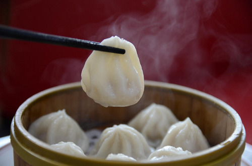 Xiao long bao AUD8 for 8 - close - Shanghai Taste by avlxyz on Flickr.