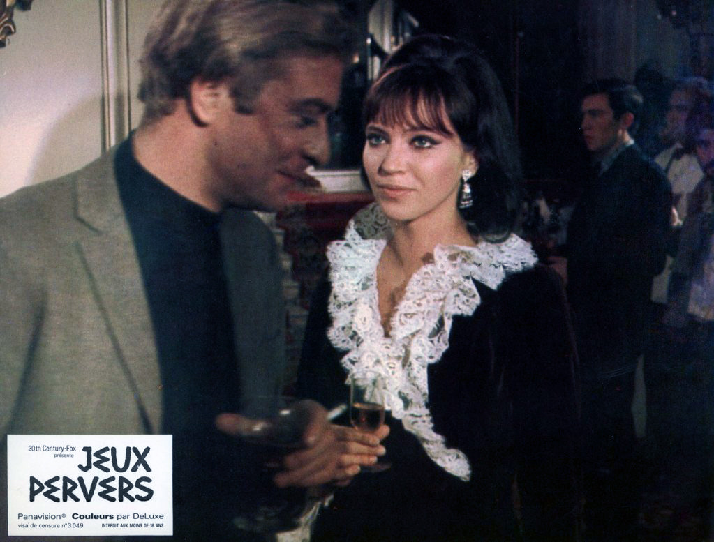French lobby card for The Magus, 1968.