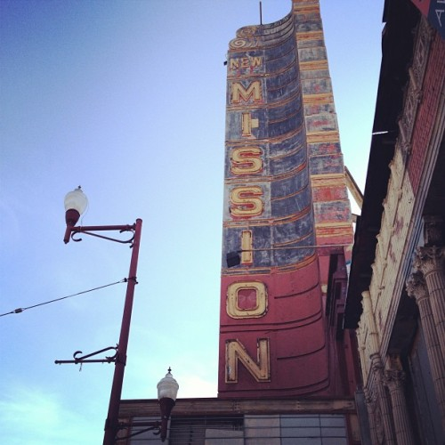 Enjoying a beautiful day in the Mission! (at Foreign Cinema)