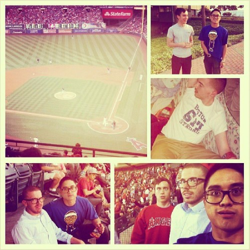 Dudes Day Out with @ohwhatsupdude & @Graeme_Jones, bomb.com of a day. #Angels #LetsGoKnicks #Melo #CrewNeckSweaters #toasterlove #BadRabbits #DerekGotAtattoo #DCPalum #617 #BostonStrong