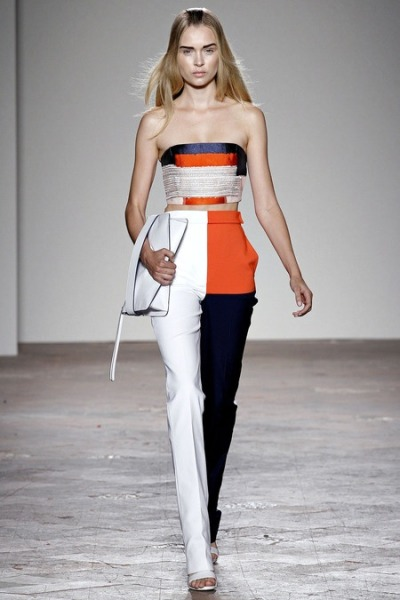C is for COLORBLOCK || Gabriele Colangelo Spring 2013 || #fashionweek #SS13 #Spring2013
