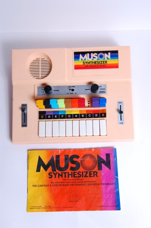 meetmelania:  Original 1978 Muson Synthesizer Sequencer