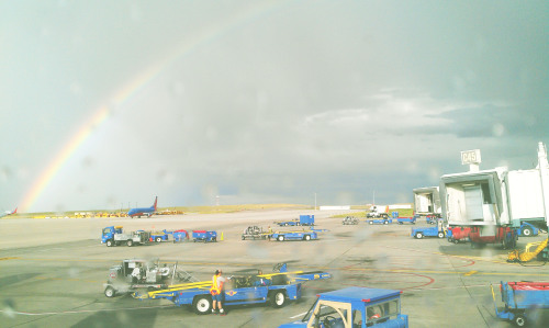 Catching the rainbow before going home…