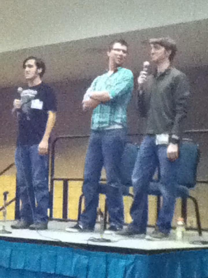 let me just say….i freaking met marble hornets…that is all.