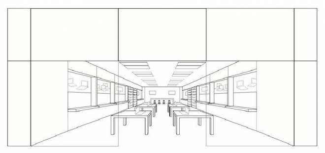 "wired:  Apple officially trademarked its store design last week, an endeavor the company has been pursuing since May 2010. After being rejected twice by the U.S. Patent and Trademark Office, which claimed the store design was not ""inherently distinctive,"" Apple submitted additional materials and drawings, and gained the trademark on its mall-centric, rectangular store layouts.  Apple store design post reminds me we took inspiration from Apple when putting staircase in our condo in San Juan, PR.Photo to follow."