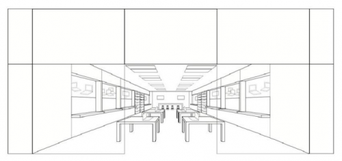 """Apple officially trademarked its store design last week, an endeavor the company has been pursuing since May 2010. After being rejected twice by the U.S. Patent and Trademark Office, which claimed the store design was not """"inherently distinctive,"""" Apple submitted additional materials and drawings, andgained the trademarkon its mall-centric, rectangular store layouts."""