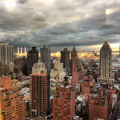 Behind the Scenes: The view from our New York City office today.
