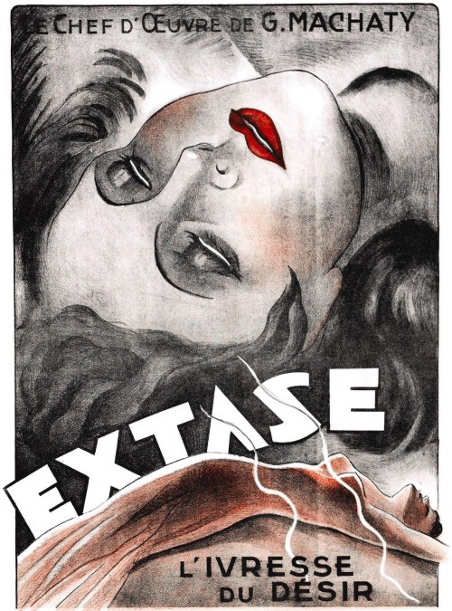 muscavomitoria:  Poster for Ecstasy (Ekstase) (1933, Czechoslovakia / Austria) - Wrong Side of the Art)