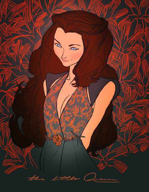 kristaferanka:  GAH im a little late on this bah. Margaery Tyrell the little queen done for GroupFarts