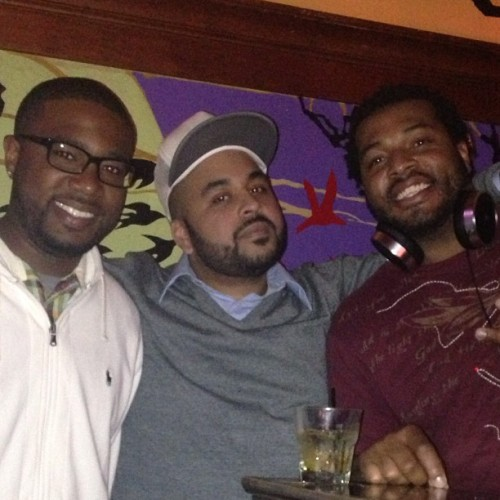 3 of the 4 Clubbullies South DJs at Torch. Minus @djprecise8270  but rockin nonetheless