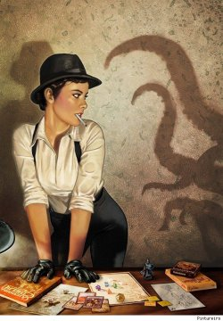 Cthulhu role playing pulp awesomeness by Pintureiro