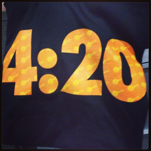 found this laying in the mail room today… um… ok hipsters. #hipsters #420