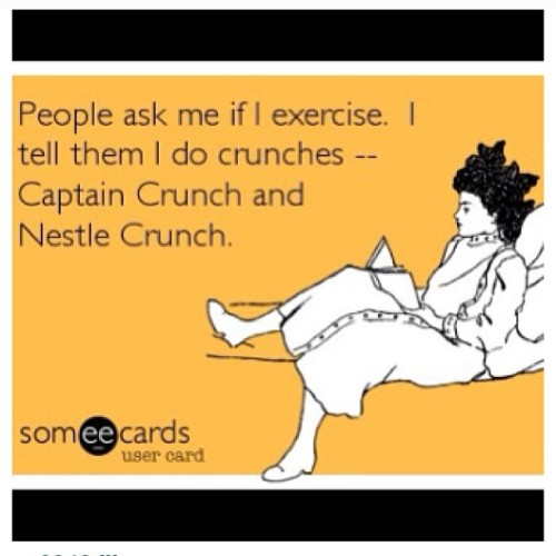 #yo #crunches #captaincrunch #nestle #nestlecrunch#absofsteel #yup #lol #funny @creatively_designed thought you might laugh at this with me