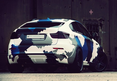 srbm:  BMW X6M Stealth InsidePerformance