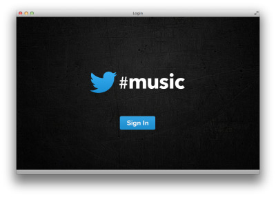 "Twitter #music Twitter appears set to launch a music service although what it is is still under wraps. Yes, you can go to music.twitter.com (pictured above) but when you get there and try to sign in, nothing happens. Via the BBC:  Reports suggest the new service will offer personalised recommendations on music through its own dedicated app. US celebrity host Ryan Seacrest confirmed the existence of Twitter's new app on Thursday via a tweet: ""playing with @twitter's new music app (yes it's real!)… there's a serious dance party happening at idol right now""  AllThingsD reports that the service will launch this weekend to coincide with the Coachella music festival."