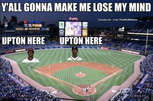 This is stupid and I love it.  usatodaysports:  Well played, MLB Memes, well played.