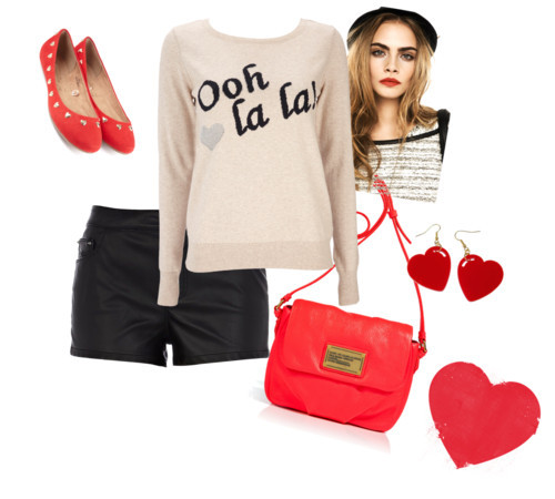 Ooh La La by rainabesos featuring skimmer shoes