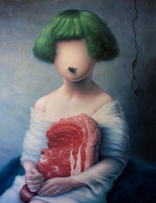 """Portrait with fly"" by *albertguasch http://bit.ly/UilTsm I like the weird."