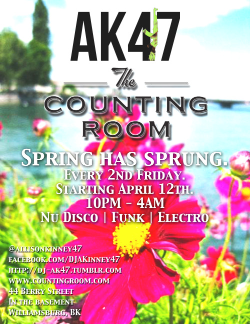 Come get funky at The Counting Room this Friday!