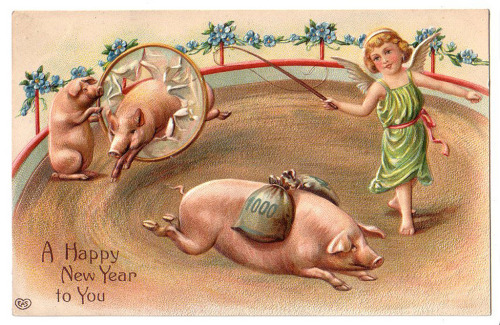 mudwerks:   (by wackystuff) pigs and money…best new year ever