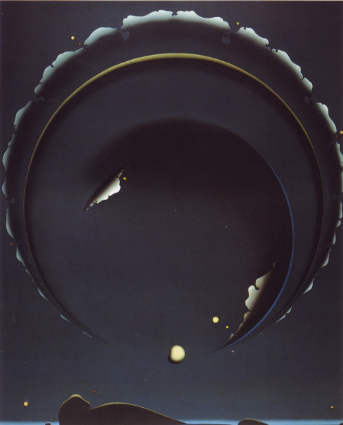 butchershook:   Shuji Tanase, 1983, black space