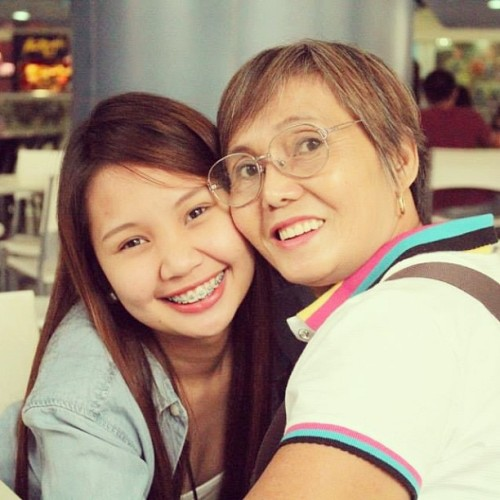 My beautiful Nanay 😘👵❤
