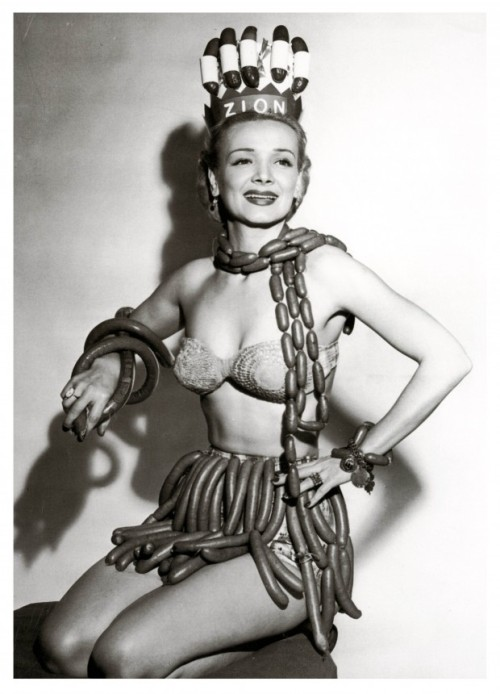 1955:  Miss Sausage Queen