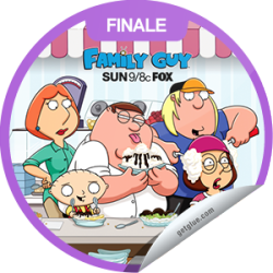 "I just unlocked the Family Guy Season 10 Finale sticker on GetGlue                      3954 others have also unlocked the Family Guy Season 10 Finale sticker on GetGlue.com                  In the Season 10 finale, Stewie and Brian hop in the time machine and head for Las Vegas and a Bette Midler concert, but the machine malfunctions and one of them is rendered ""lucky,"" while the other is ""unlucky."" Share this one proudly. It's from our friends at FOX."